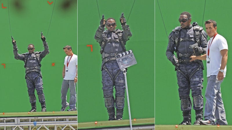 First look at the Falcon in Captain America 2