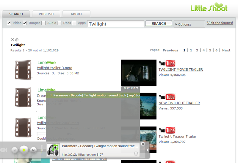 LittleShoot Adds P2P File-Sharing to the Browser