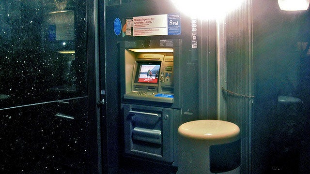Use ATM Machines Inside of Banks to Avoid Getting Ripped Off by Scammers