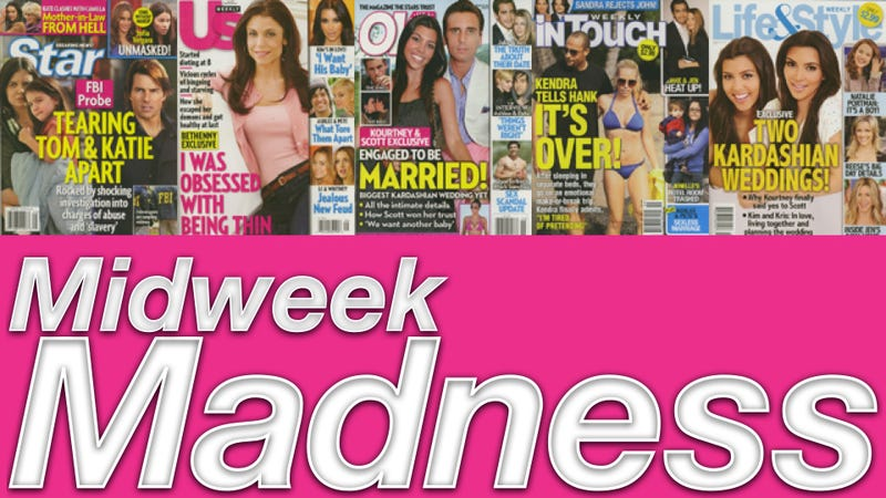 This Week In Tabloids: Miley Cyrus & John Mayer Spotted Kissing & Ass-Slapping