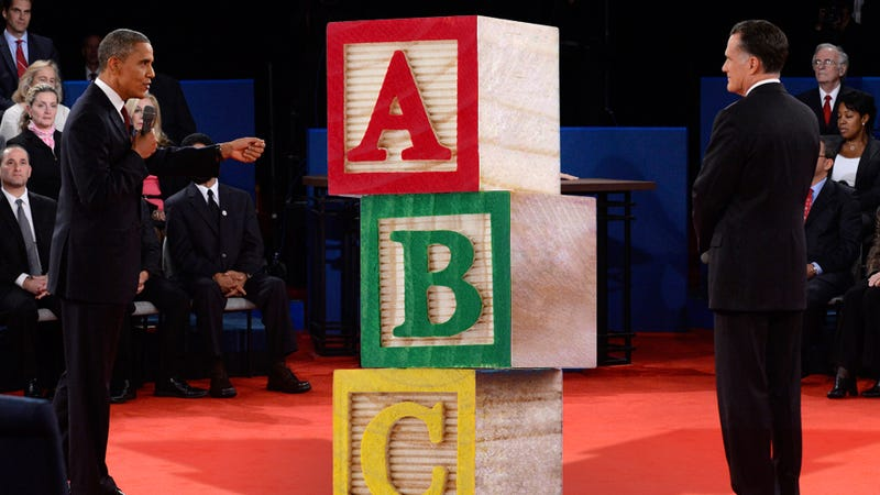 The ABC's of the Presidential Debate: From Awkward Laughter to Binders to Zingers