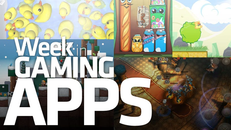What Starts With Ducks and Ends With Cheese? It's the Week in Gaming Apps