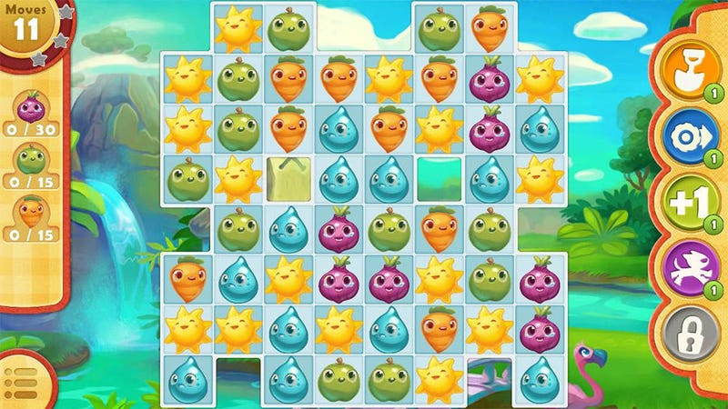 Resolve To Quit Candy Crush Saga? Just In Time For Farm Heroes Saga.