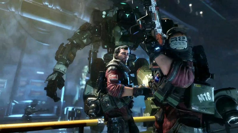 EA Shows Off Titanfall 2's Single And Multiplayer