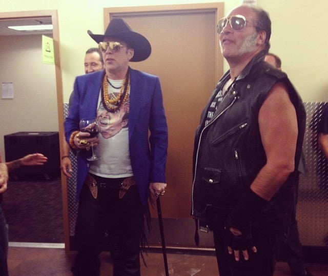 Nic Cage Reaches Nic Cage Supernova at Guns N' Roses Concert