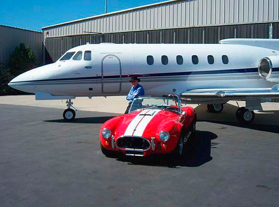 Buy Carroll Shelby's Jet, Get A Free Cobra