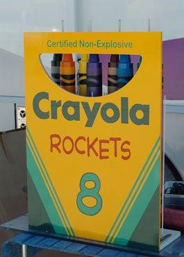 Crayola Crayon Rockets Gallery