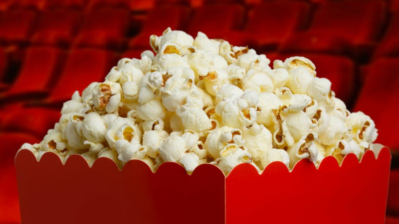 Movie Popcorn Is Eating Your Brain