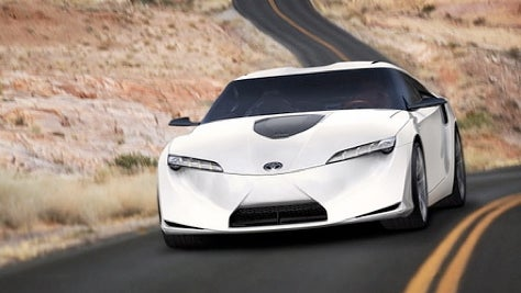 Desperately Seeking Supra, Toyota Exec Hints That FT-HS Could Be Next Supra