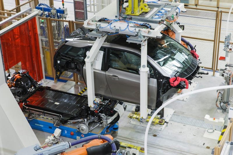 The First Volume Produced Carbon Fiber Cars Are Ready At BMW