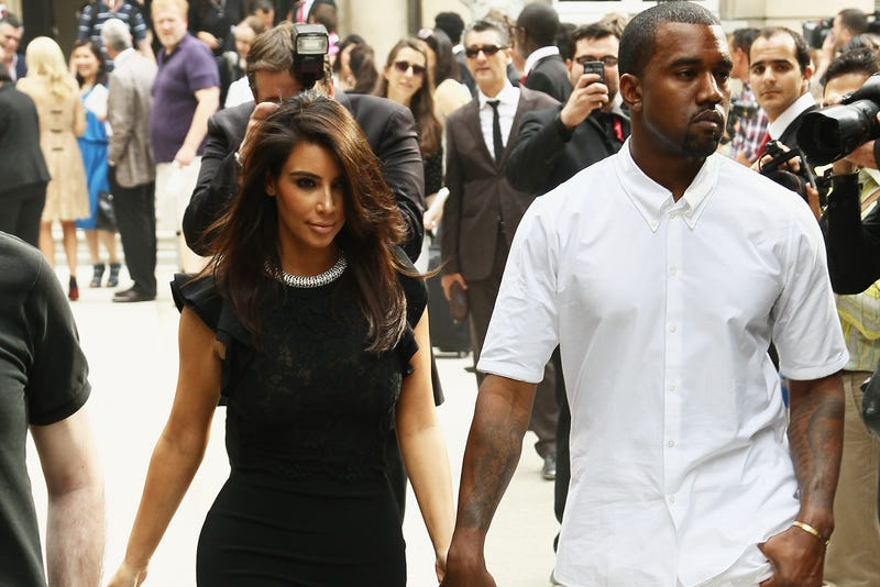 If You're Kanye West's Friend, He Will Show You Photos of Kim Kardashian in a Bikini