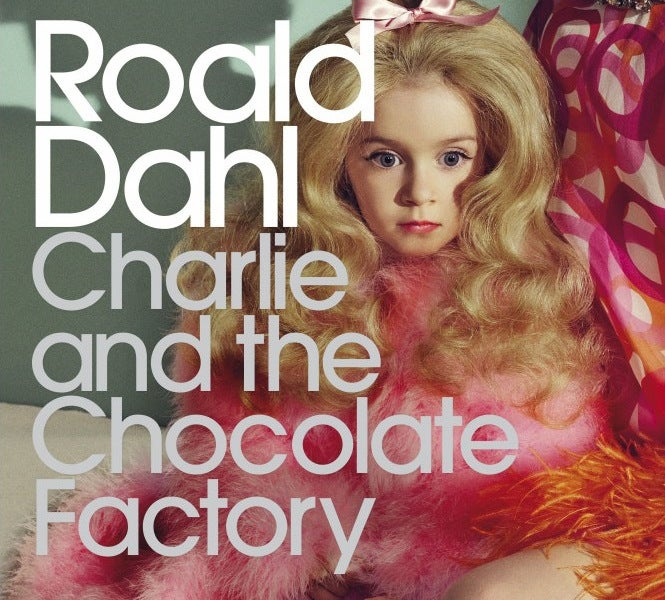 The New Charlie and the Chocolate Factory Cover Sure Is...Something