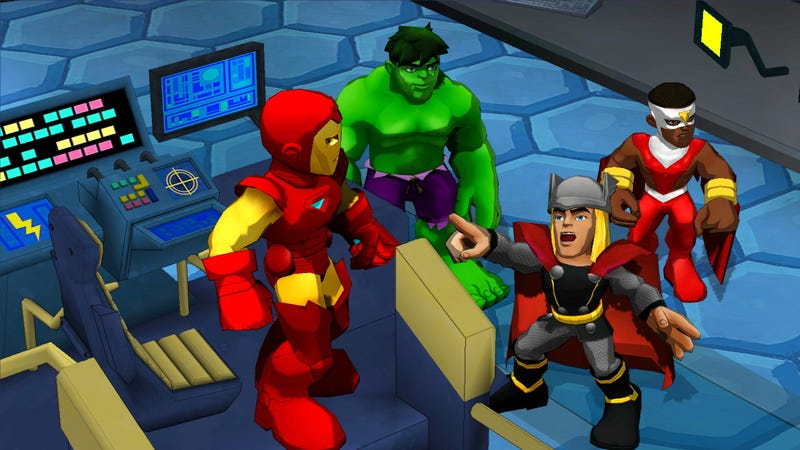 The New Marvel uDraw Game is a Preview of our Wii U Future