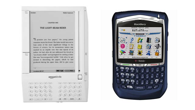 The Original Kindle Was So Fugly Because of the BlackBerry