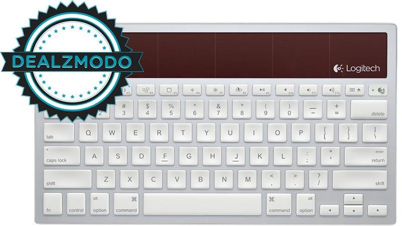 Today's Deals: Logitech Solar Keyboard, Canon T3i, iPads, Samsung SSD