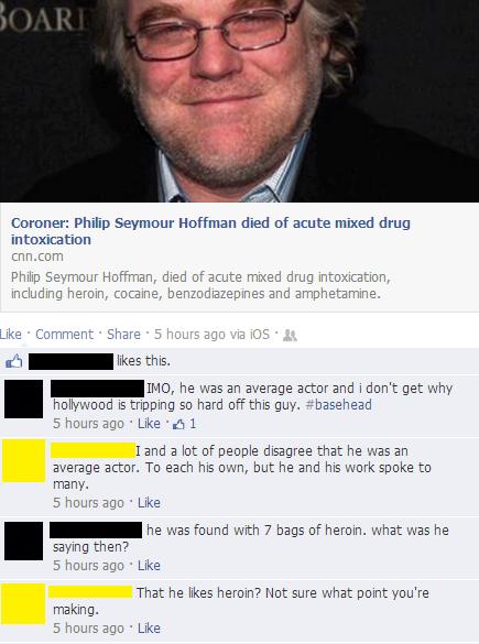 Facebook Argument