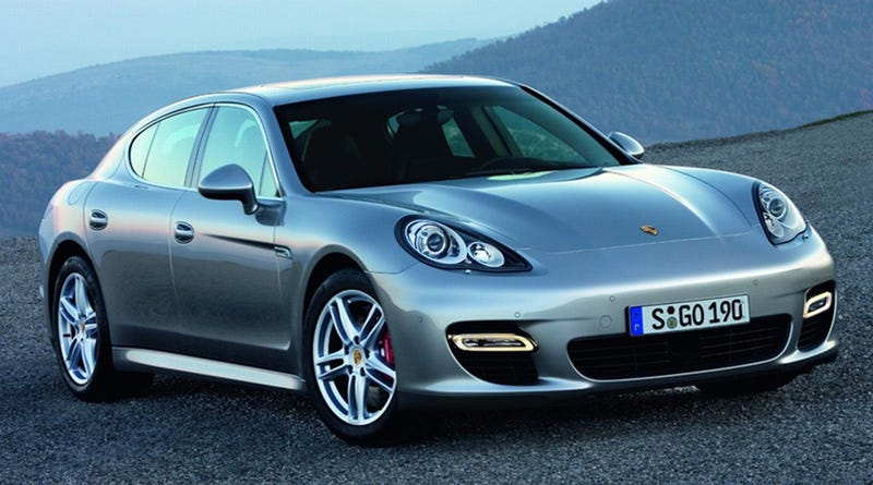 Porsche Panamera Official Photos, Details