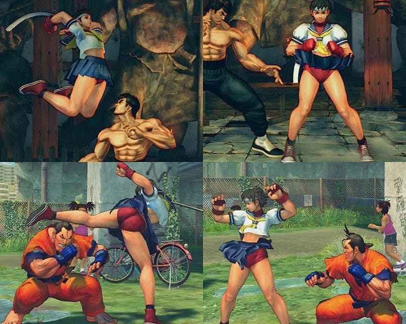 Street Fighter IV's Suggestive Content