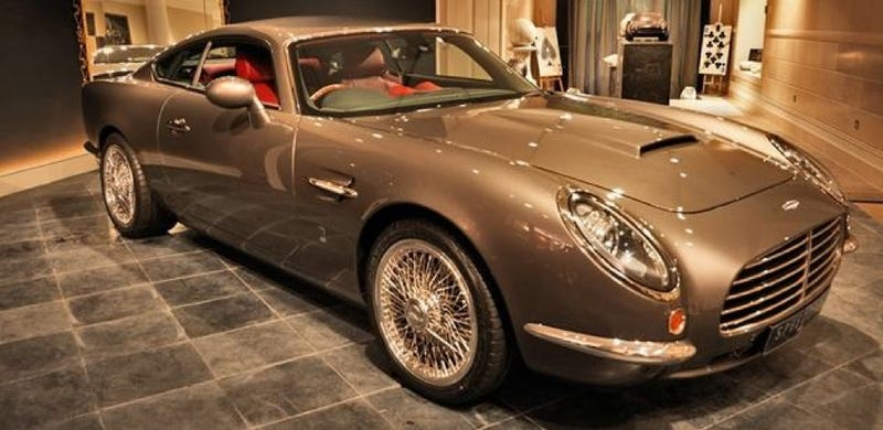 David Brown Automotive Speedback Is A Funhouse Mirror Aston Martin DB5