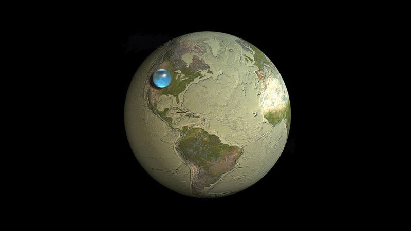 All the Water On Earth