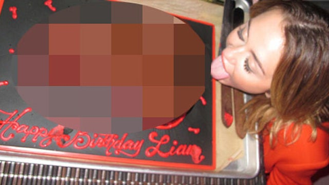 Today in Fun: Miley Cyrus Fellates a Cock Cake