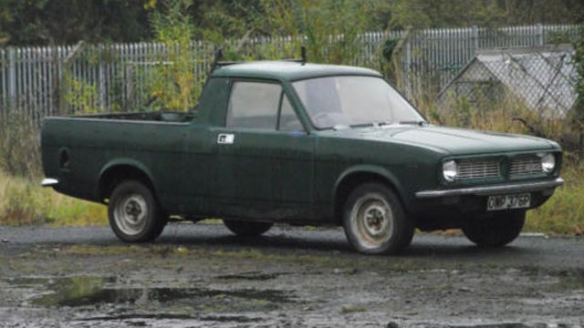 An amusingly British way to sell your rare Austin Ute