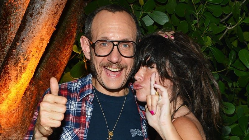 Terry Richardson and Paz de la Huerta, Unsurprisingly, Get Along