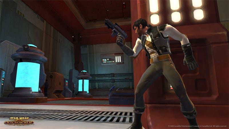The Humorous And Romantic Old Republic Smuggler