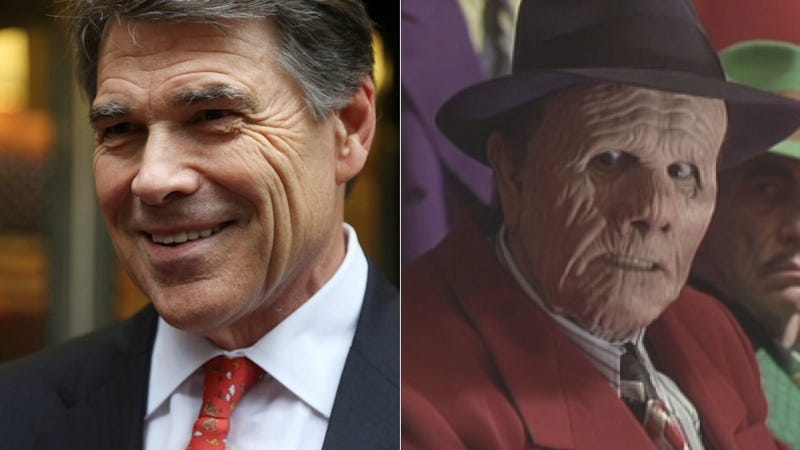 7 Signs Rick Perry Might Be An Actual Comic Book Villain