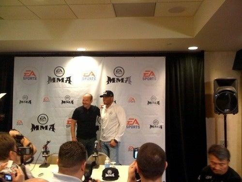 EA Sports MMA Grabs Randy Couture