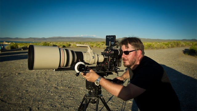 600mm Canon Lens + 2X Converter + 4K Video Shot by Red Epic = Stunning Moving Pictures