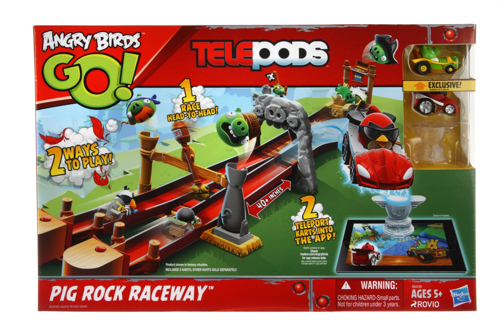 Angry Birds Go Toys : Toys for a game we ve not yet seen