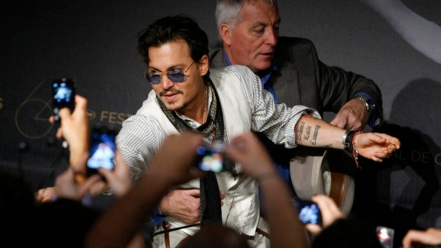 Johnny Depp's Sorry About Comparing Getting His Picture Taken to Being Raped