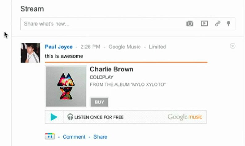 Google Music Now Available to All US Users, Adds a Music Store and Great Google+ Integration