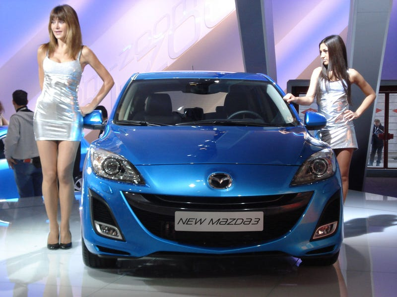 2010 Mazda3 Hatchback Shows Off Sexy New Rear Live In Bologna