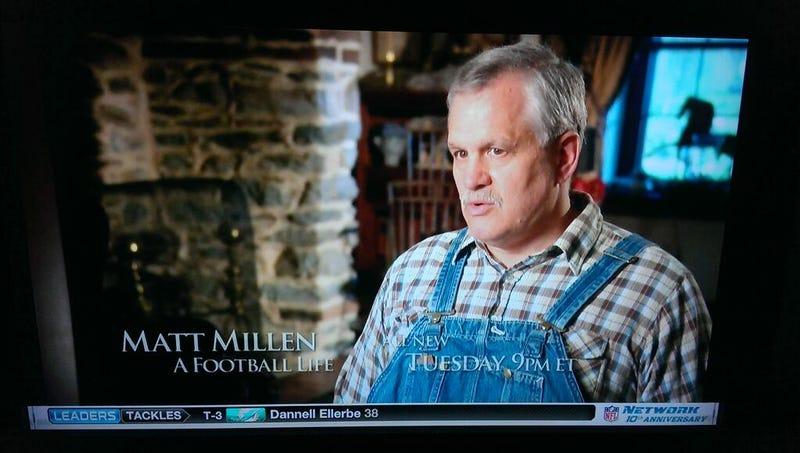 A Very Important Picture Of Matt Millen Wearing Overalls