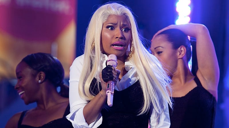Nicki Minaj Sometimes Perplexes Even Nicki Minaj