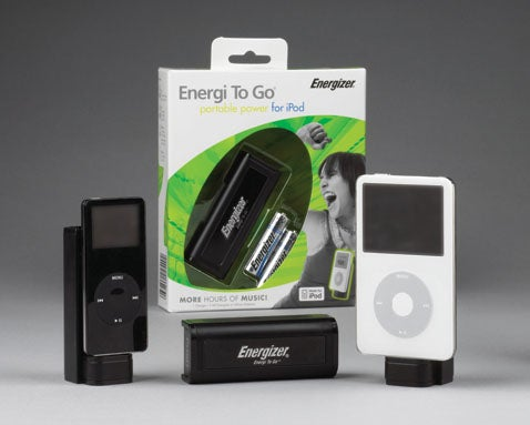 Energizer Energi To Go Updated For New iPods