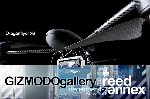 At Gizmodo Gallery: Draganflyer X6 UAV