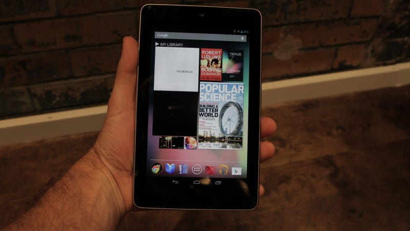 Google Might Not Be Losing Money On the Nexus 7 After All
