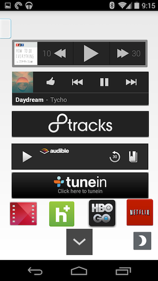 Fast and Easy Media Controls with a Makeshift Widget Folder