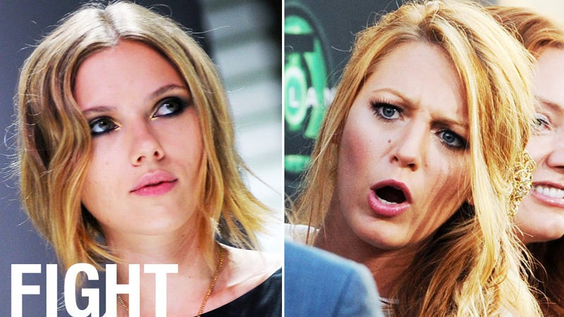 Scarlett Johansson and Blake Lively Are Having a Hot Blonde Catfight