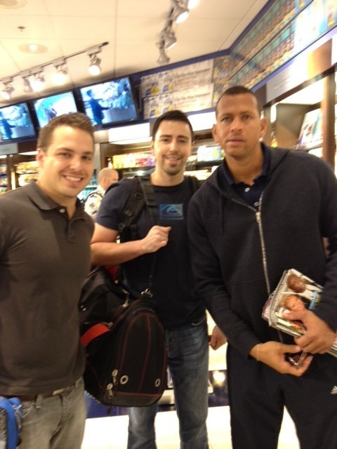 Just Like Us: A-Rod Apparently Likes To Read Gossip Magazines On Airplanes