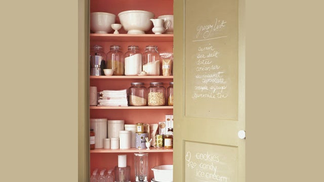 Keep Your Shopping List in Your Pantry to Remember to Pick Up Unusual Items
