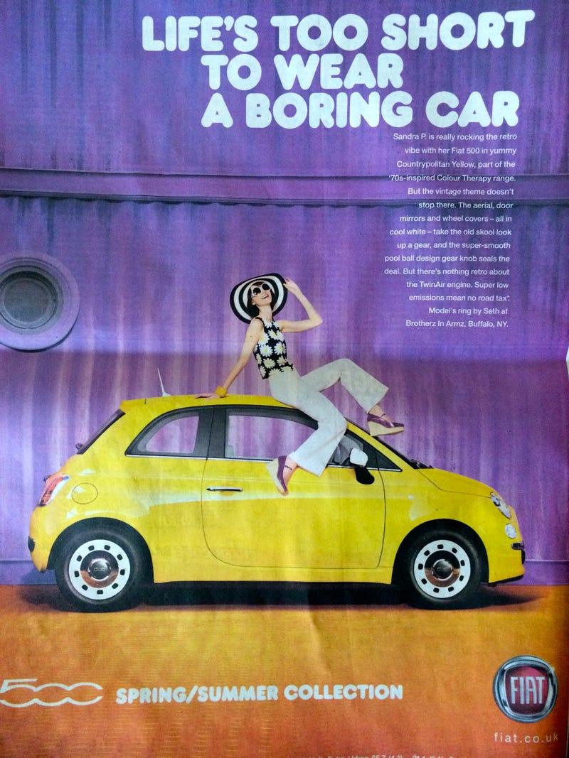 Fiat Chrysler sells cars to women like it's 1955