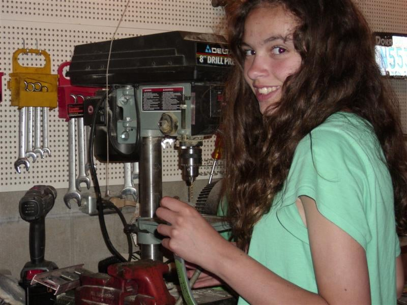 Meet The 14-Year-Old Girl Building A Car For Her Sweet Sixteen