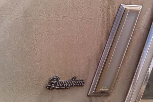 Brougham Of The Day: Pontiac Parisienne Brougham!