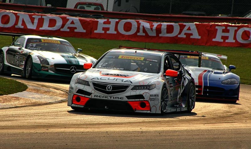 Acura TLX GT at the Carousel at Mid Ohio