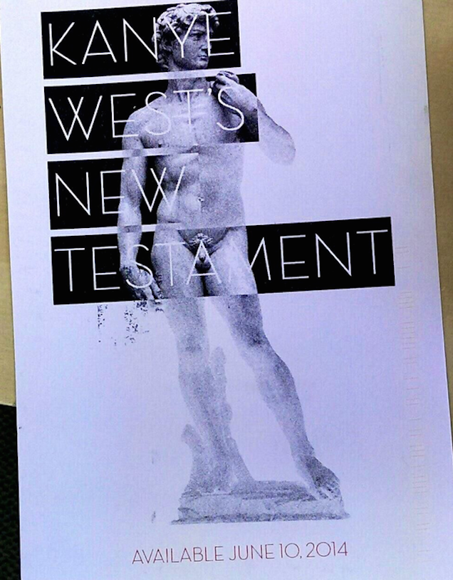 There Is No New Kanye West Album Called The New Testament