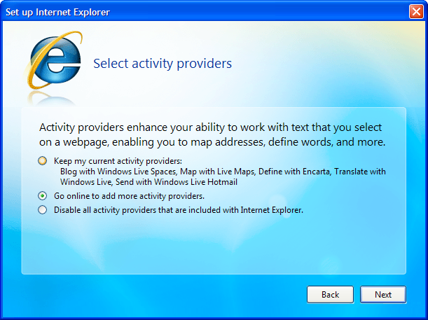Internet Explorer 8 Beta 1 Available for Download